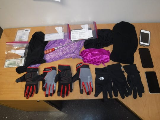 New Milford police seized burglary tools during a traffic stop March 21, 2019.