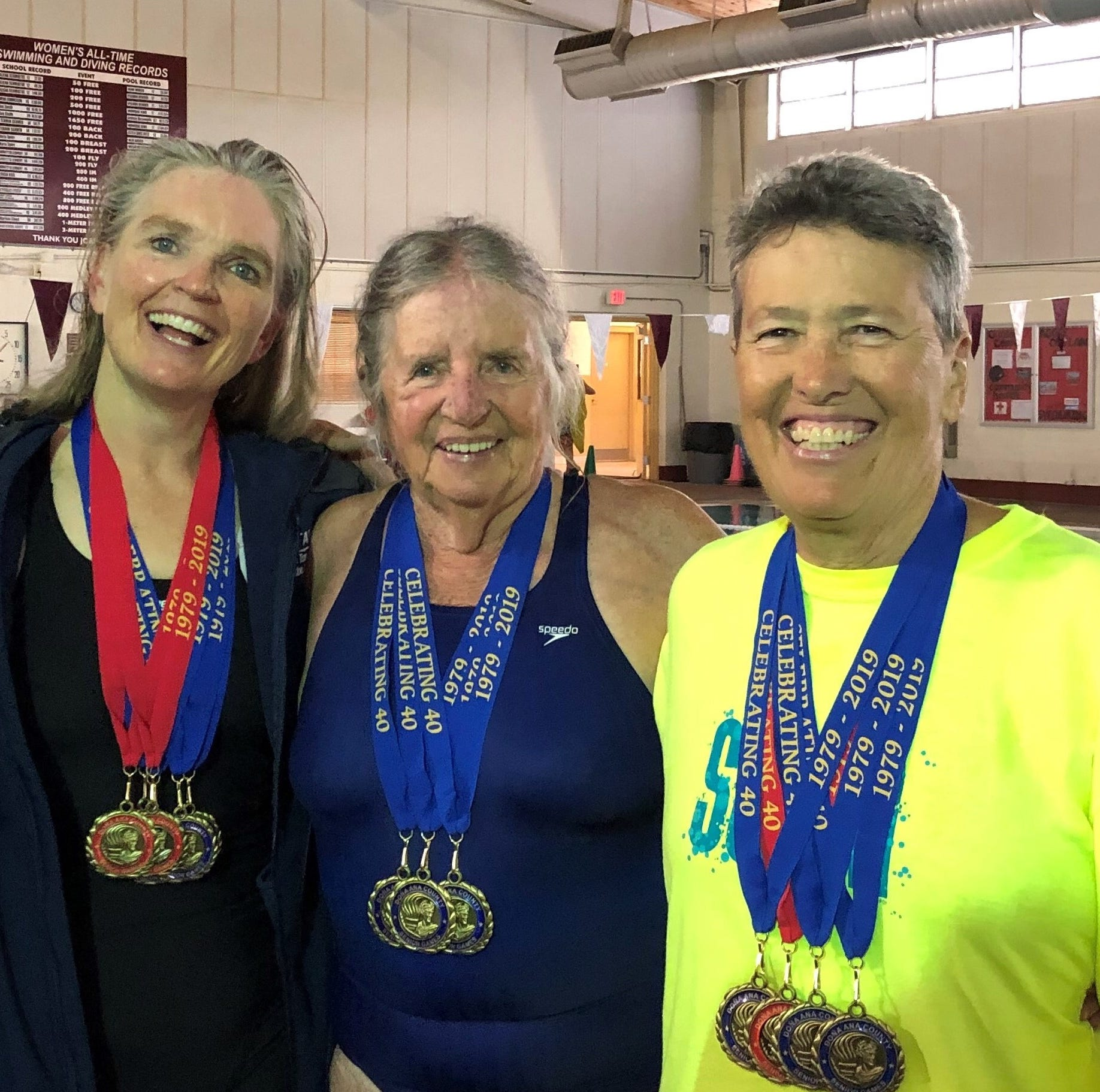 Senior swimmers add to medal count at Dona Ana Games in Las Cruces, NM
