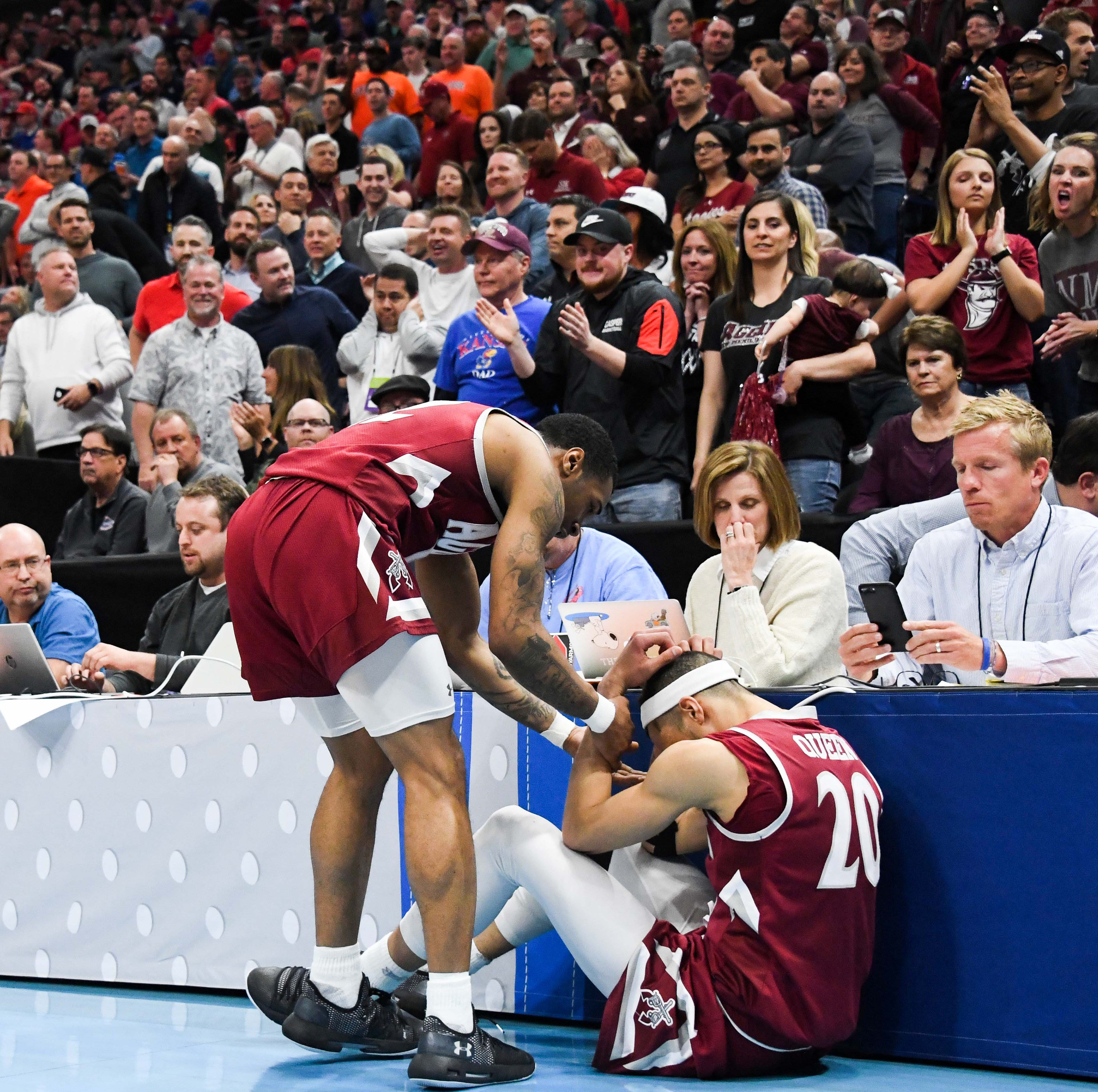 New Mexico State's upset bid falls just short against Auburn