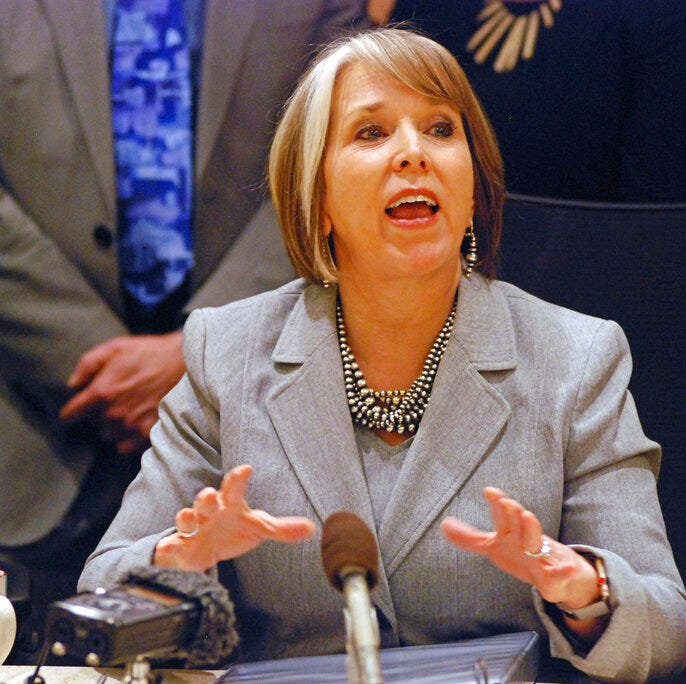 New Mexico governor details social expenses: $3,600 brunch, dry cleaning, bag tax