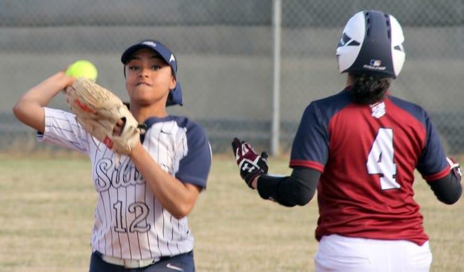 Junior Colts' short stop Aijia Richard and the Silver High School athletic teams are staying home this weekend.
