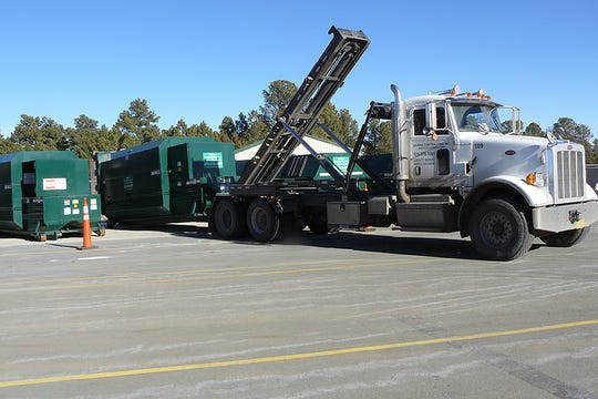 Sierra Contracting handles much of the solid waste in Lincoln County.