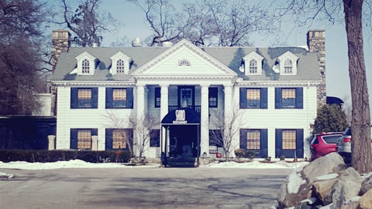 The former Charles Rodgers mansion, built in 1929 on Nine Mile Road on part of early settler Sally Thornton's land, now serves as a home for Shiro restaurant.