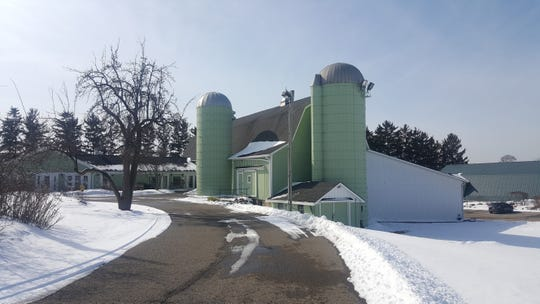 This barn, located on the Tollgate Farm grounds, was built in the 1950s when Adoph and Ginger Meyer acquired the former Bassett farm, continuing to work the land.
