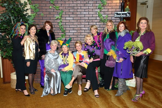 From L to R: Mary Lester, Sherry Dumke, Diane Anderson, Connie Lurie, Jody Parker, Donna MacMillan, Annette Van Dyke, Anna Spears, Stacey Renker, Sandy Bosley, Phyllis Washington