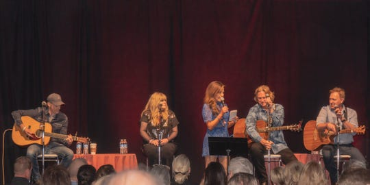 From left: Kelley Loveless, Jamie O'Neal, hostess Robin Meade, Billy Dean and Tim Nichols.