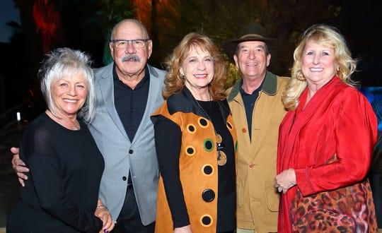Pam Simpkins and Board members Bill Simpkins, Nancy Stegehuis, Van Tanner, and Mary Lou Solomon enjoying the evening.