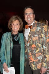 Advisory Council member and Gold Sponsor Carol Wright with President and CEO Allen Monroe.