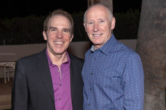Artistic Director/Producer Michael Shaw and Producer Clark Dugger