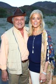 Board member Dick Shalhoub and Tracy Smith.