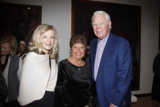 Cindi Bone, Connie Norton, and Bill Bone