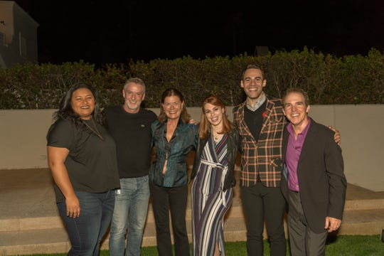 Desiree Clarke, David Youse, Alexana Thomas, Bianca Stoker, Sean Thomas Brown and Producer/artistic director Michael Shaw.