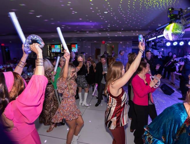 Bighorn members dancing the night away