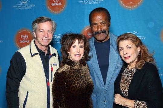 Doug Miller, Debbie Green, and Fred and Linda Williamson enjoying the festivities.