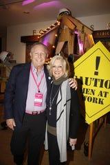 Jamie Kabler with Eisenhower Board Member Helene Galen