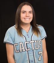 Cactus softball centerfielder Tanya Windle