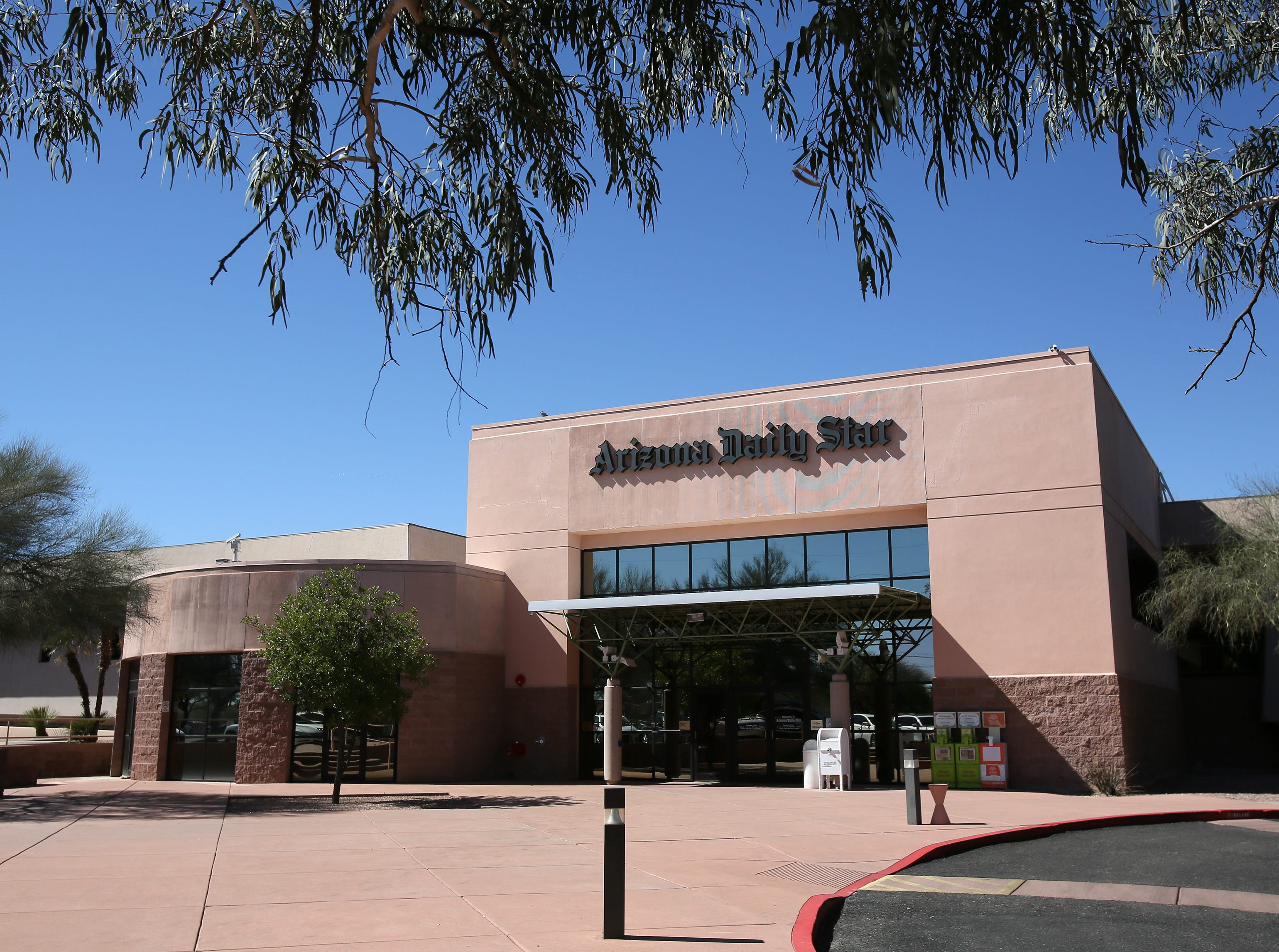 The Arizona Daily Star newspaper building  at 4850 S. Park Ave. in Tucson on Feb. 26, 2018.
