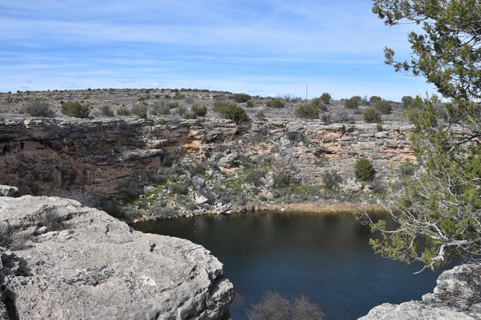 A side trip to Montezuma Well complements the hike.