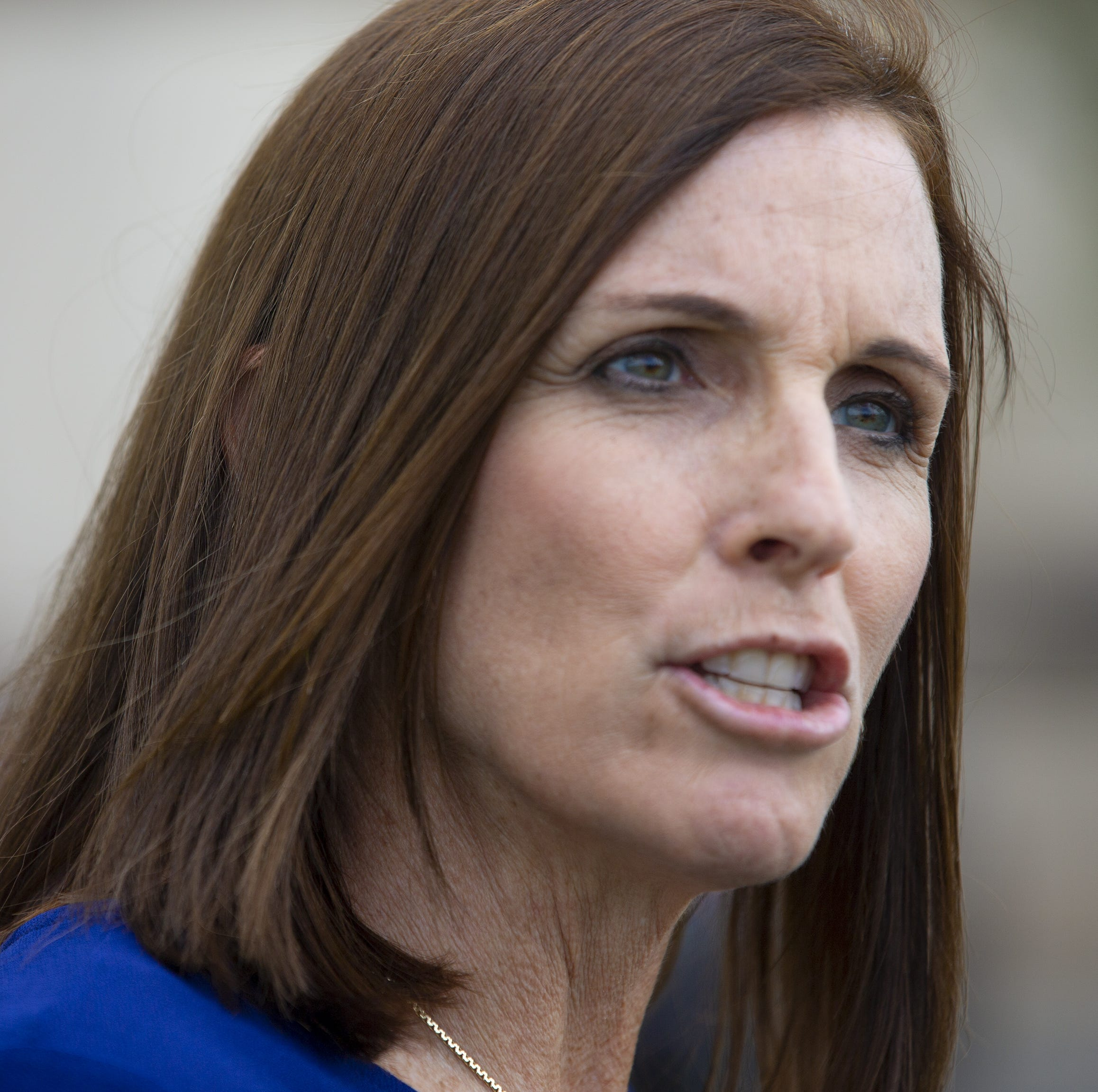 Martha McSally says time cost her the Senate race. No, she lost because of Trump