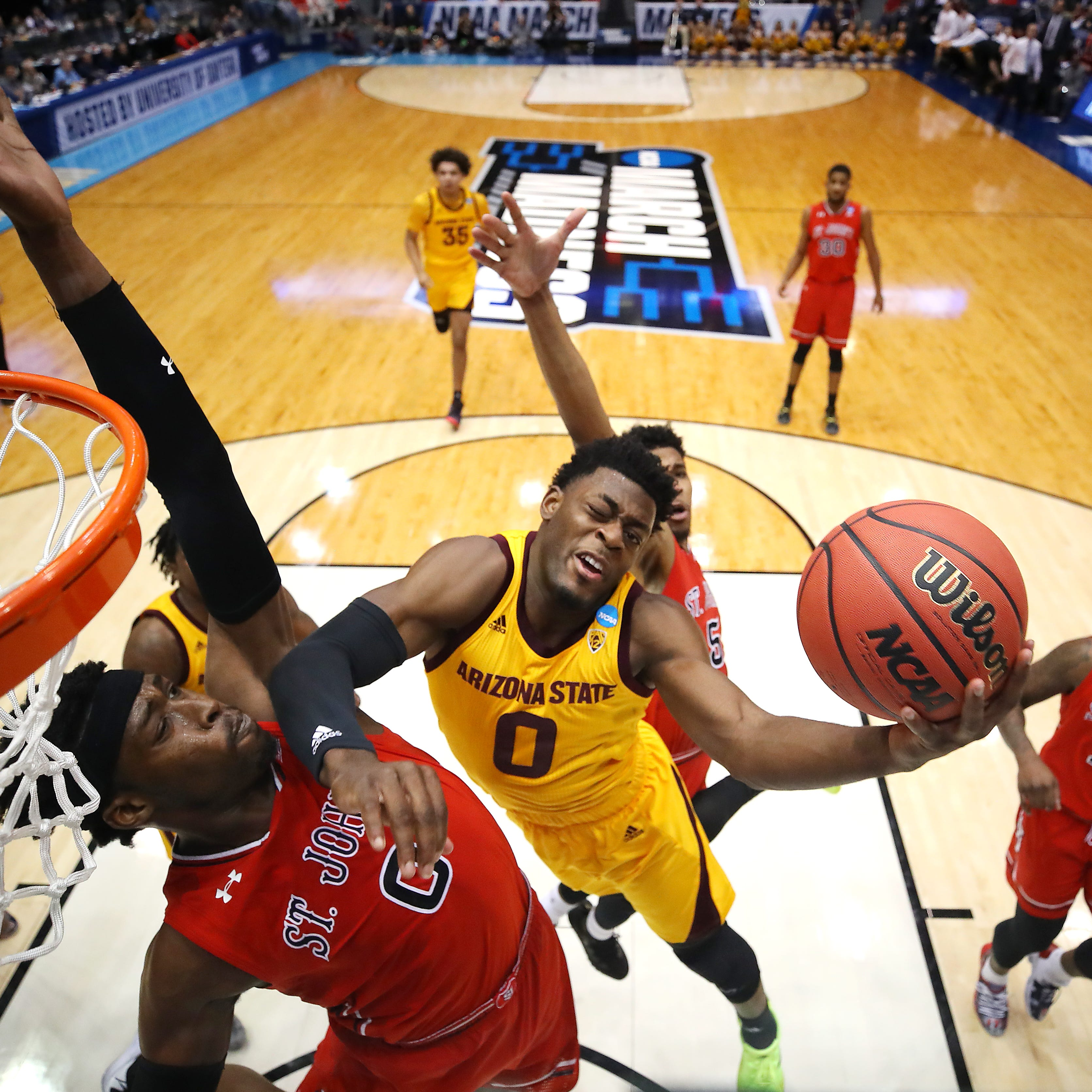 ASU men beat St. John's in First Four for first NCAA Tournament win since 2009