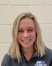 Phoenix Xavier Prep tennis doubles champion Erica Stutz