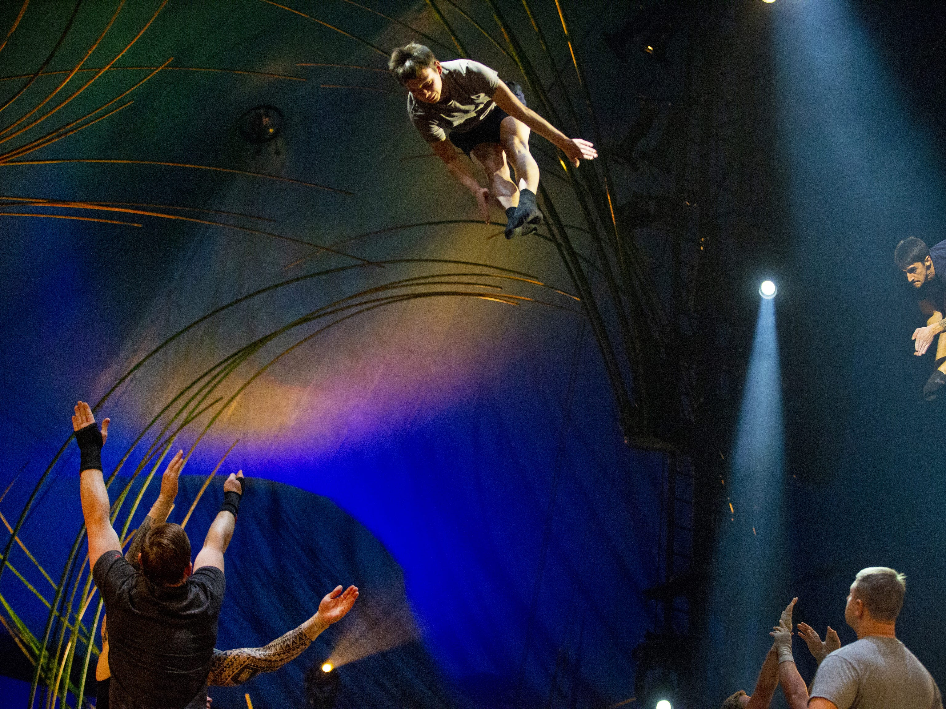 Behind the scenes of Cirque du Soleil's 'Amaluna'