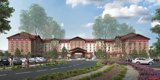 Artist rendering of Great Wolf Lodge Arizona, opening Oct. 17.