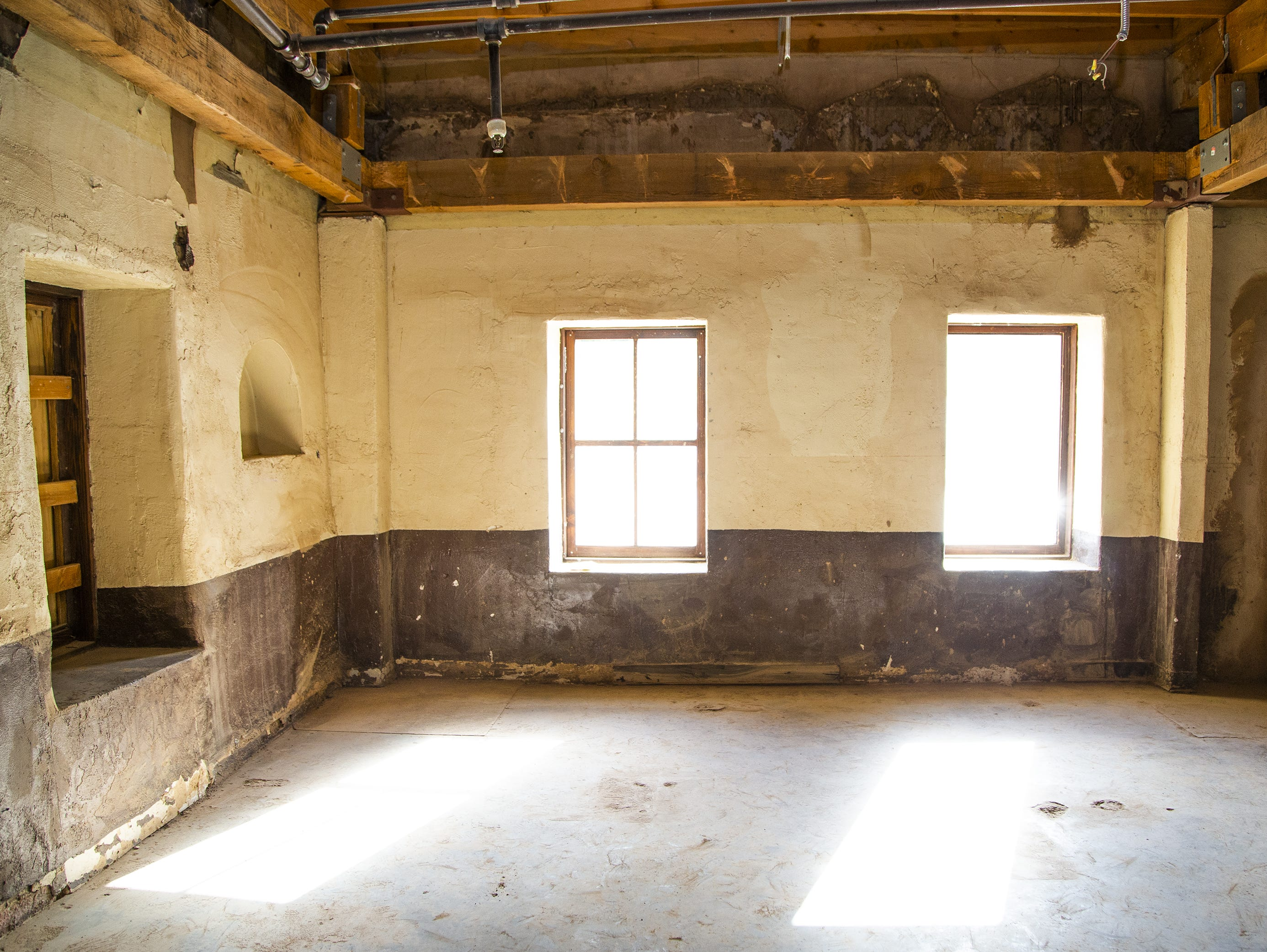 This is the interior of the room that Carl Hayden was born in at Monti's La Casa Vieja.   Parts of the historic building on Mill Avenue in Tempe are being torn down on March 21, 2019. The parts of the building that are original, dating back to the late 1800s, are being retained. Only add-ons and additions made in later years are being torn down.