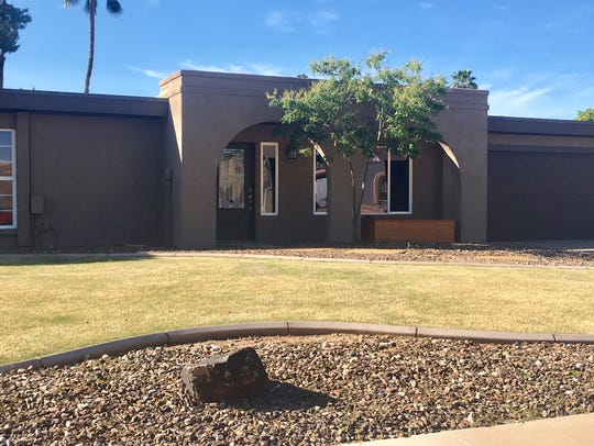 This northeast Phoenix home sold for $250,000 during the housing crash in 2011. Now,home values have rebounded by 130 percent. The house next door to it just sold for $450,000. Pictured on March 21, 2019.