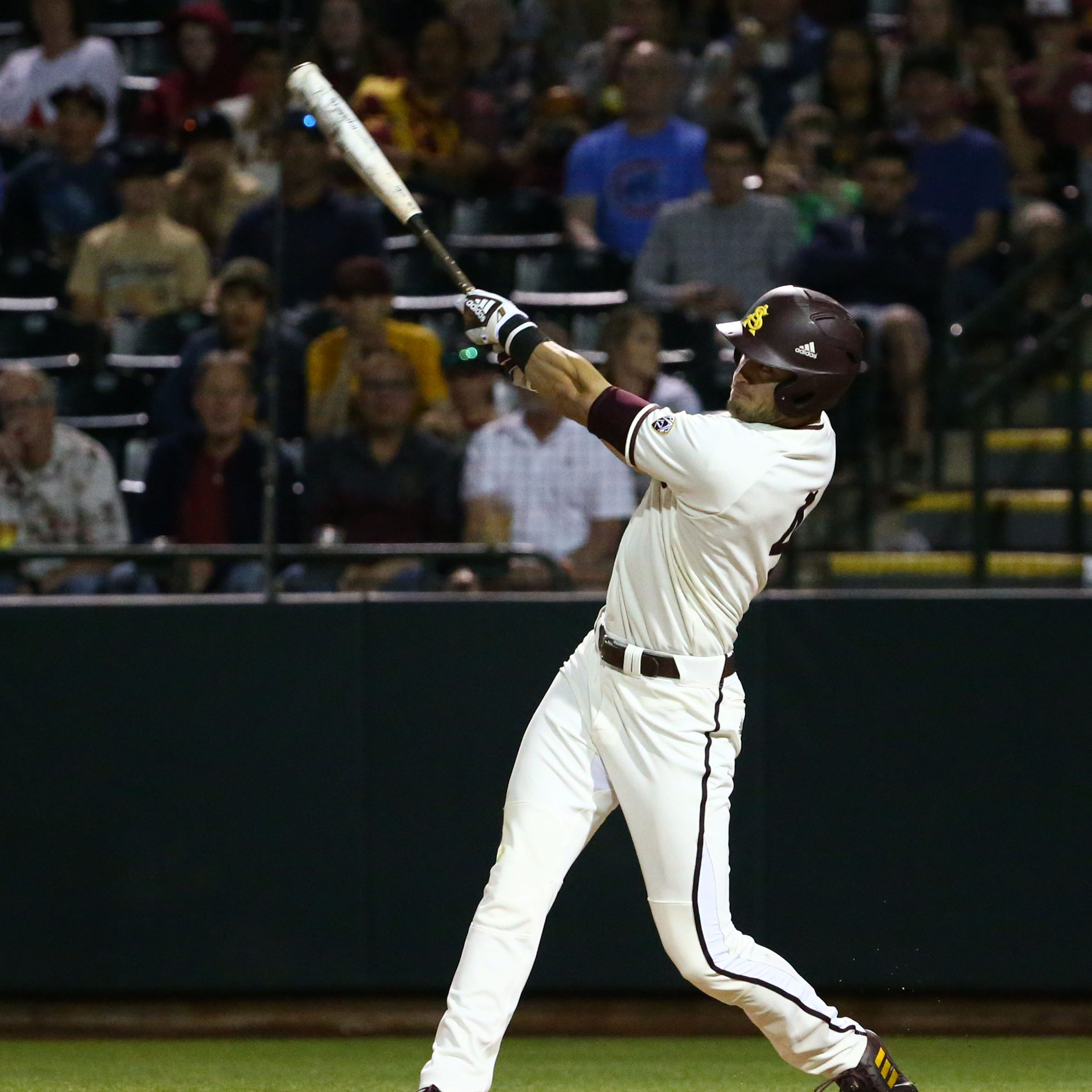 No. 10 ASU baseball improves to 20-0 as Hunter Bishop moves into tie for national home run lead