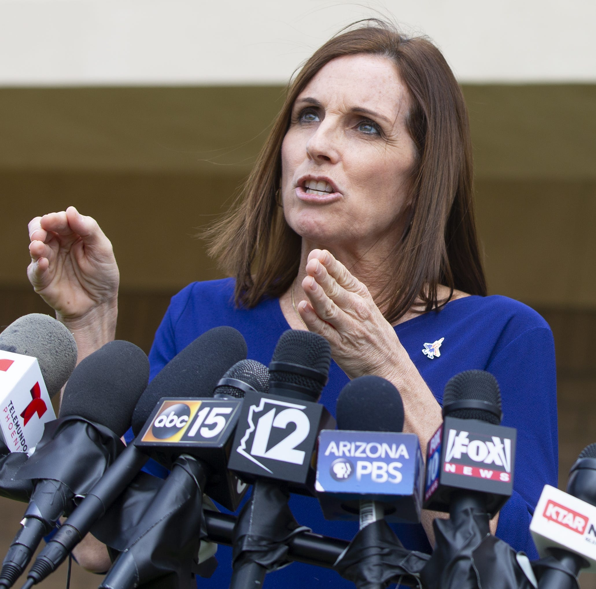 Two days after dodging the question, Martha McSally addresses Alabama's abortion law