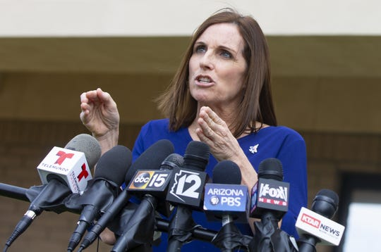 When asked about Alabama's abortion law, Martha McSally said she was focused on her work in D.C.
