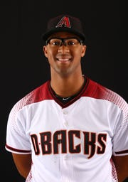 Jon Duplantier of the Arizona Diamondbacks poses for a photo during the annual Spring Training Photo Day on Feb. 20 at Salt River Fields in Scottsdale, Ariz.