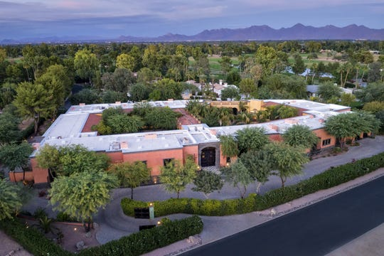 This 17,912-square-foot Paradise Valley mansion in Camelback Country Club Estates topped the latest list of the Valley home sales, selling for $12 million. The mansion, sold to Amy Connor, has two central courtyards with nine fountains.
