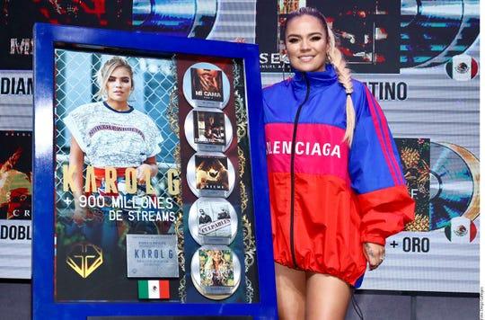 La colombiana es una de las artistas más escuchadas en México, con más de 900 millones de streams en plataformas digitales