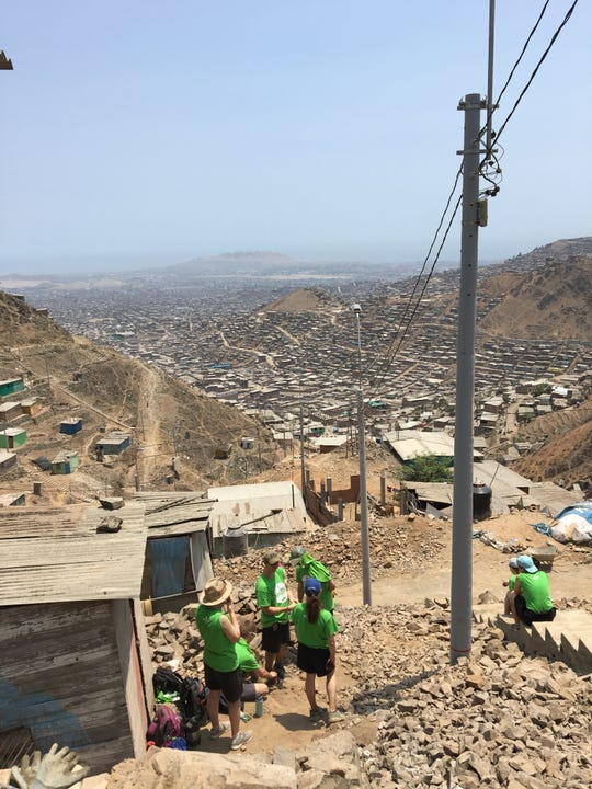 Jon Miller participated in a mission trip in Peru over his 2019 spring break. He will speak about his experiences at The St. Stephens parish center on March 23.