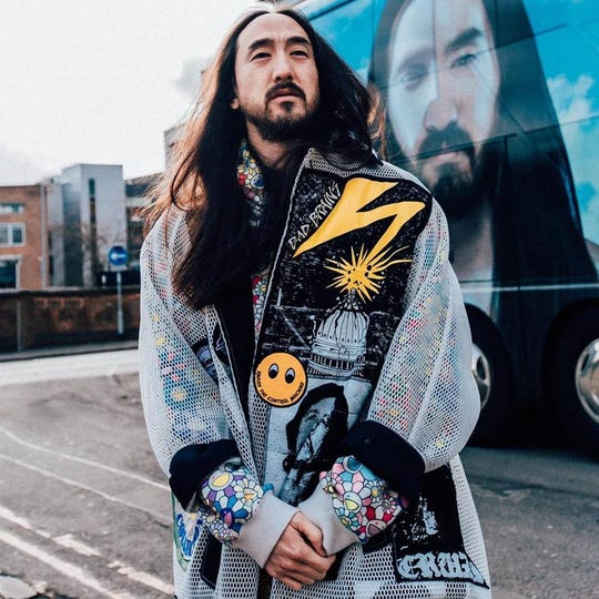 DJ Steve Aoki will perform Sunday, March 24, at York College.