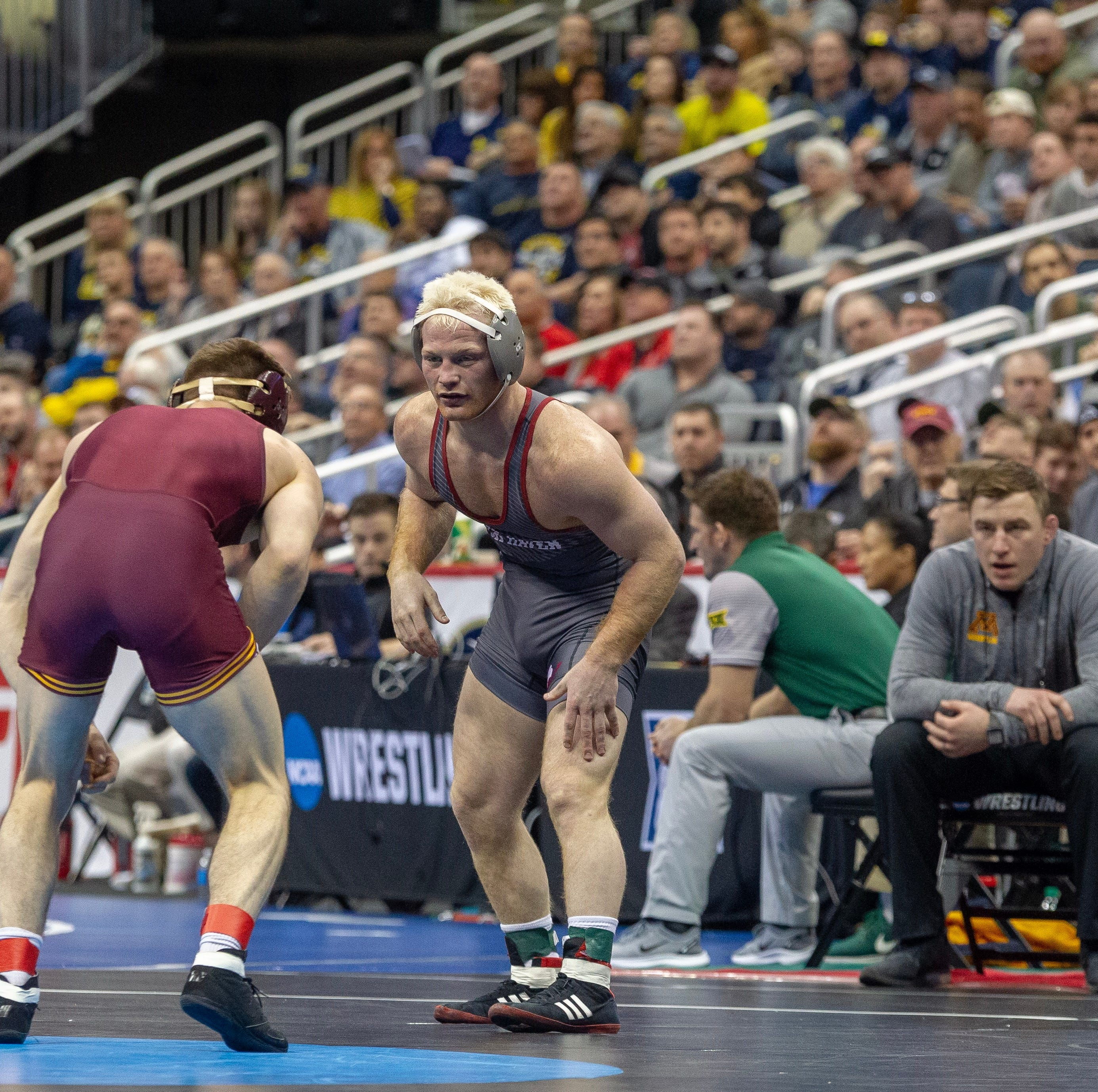 NCAA Wrestling: Chance Marsteller plows into championship quarterfinals in Pittsburgh