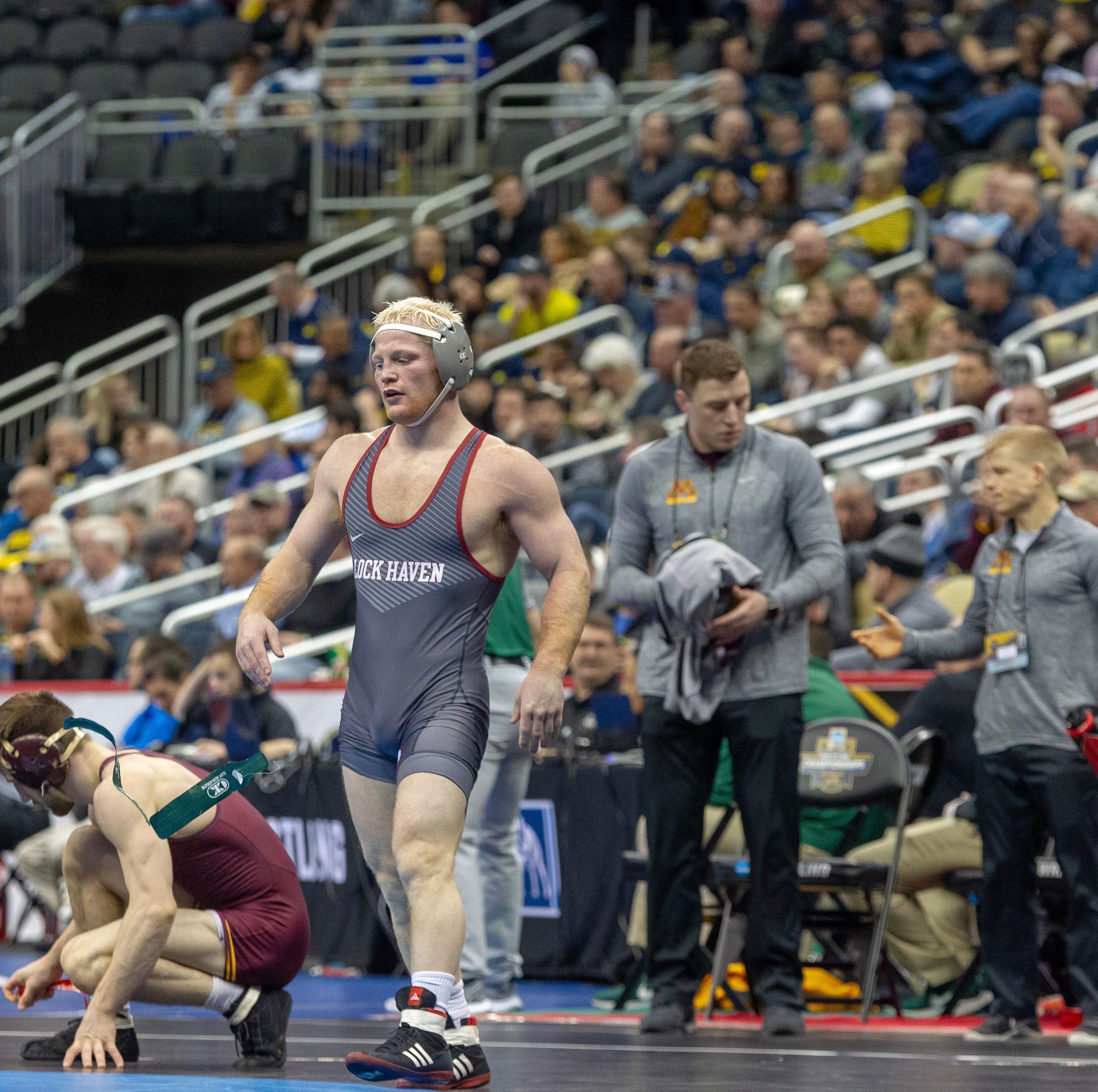 Chance Marsteller falls in NCAA wrestling quarterfinal, has shot at All-America status