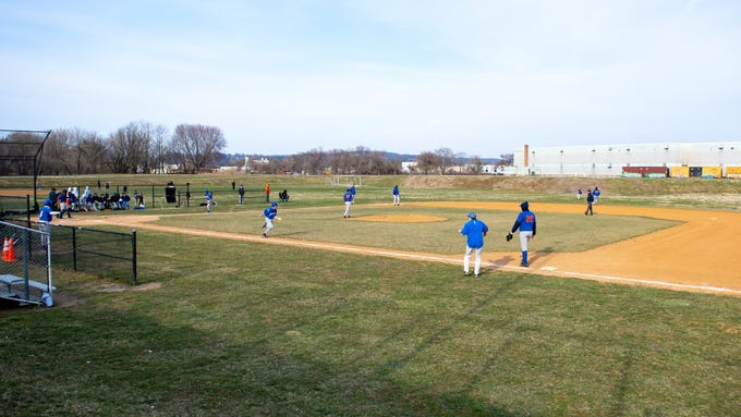 York High takes on Steel High at Small Athletic Field, March 20, 2019.