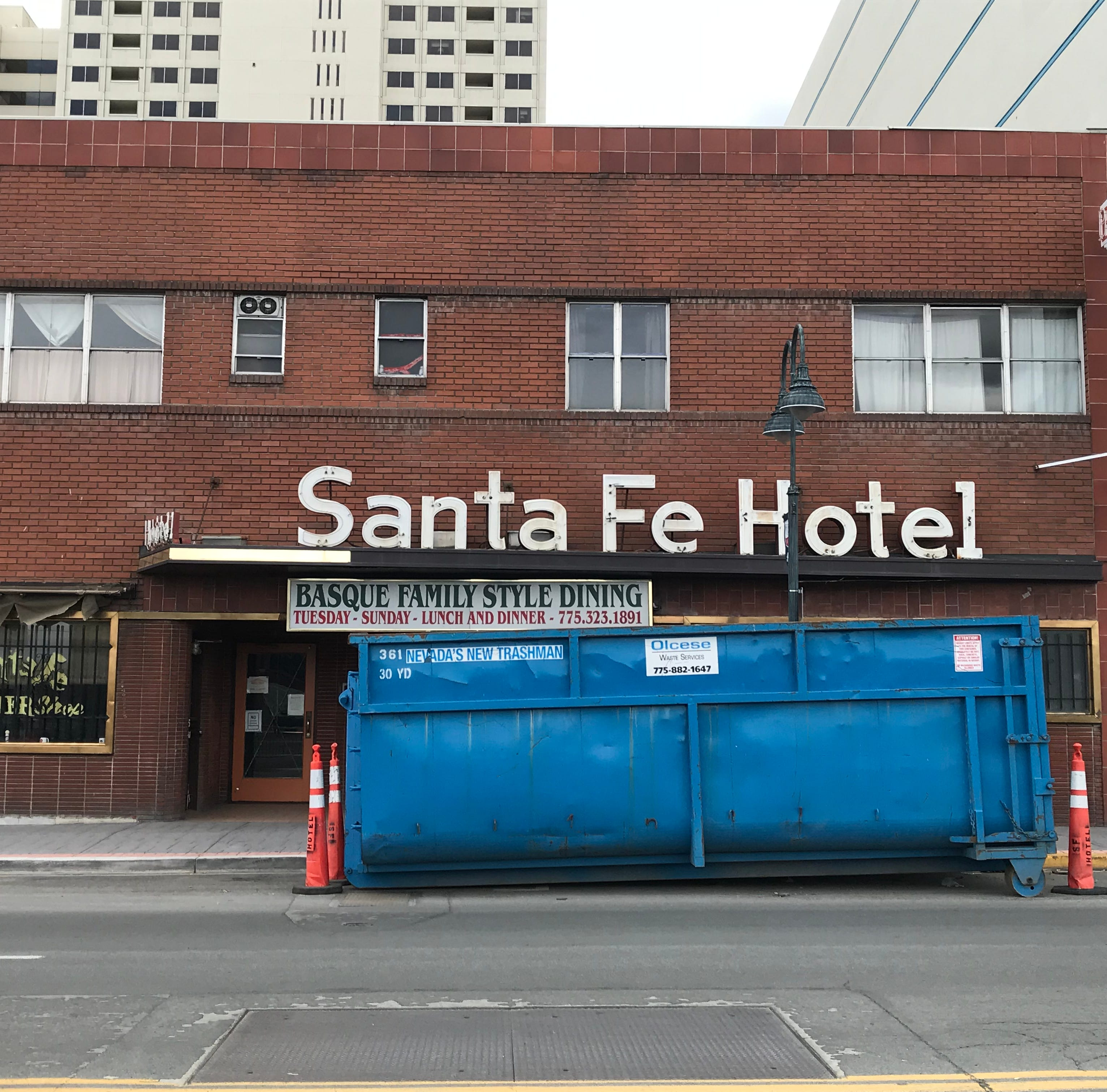 Only on RGJ: Santa Fe Hotel, longtime Reno Basque restaurant, set to re-open in May 2019