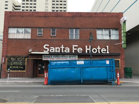 The restaurant portion of the Santa Fe Hotel, the longtime Basque restaurant and residence in downtown Reno, has been closed since its purchase in July 2017. The restaurant is set to re-open sometime in May 2019.