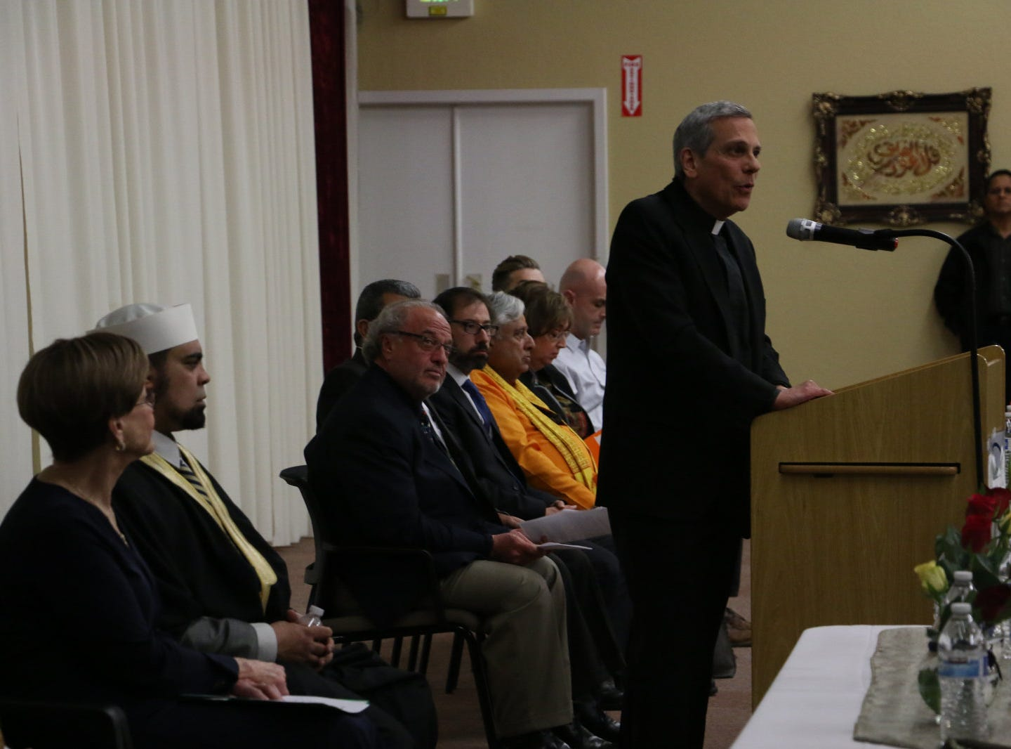 "The Northern Nevada Muslim Community hosts a ""Hearts United with Christchurch and the Muslim Community"" vigil and prayer gathering in Sparks on March 20, 2019."