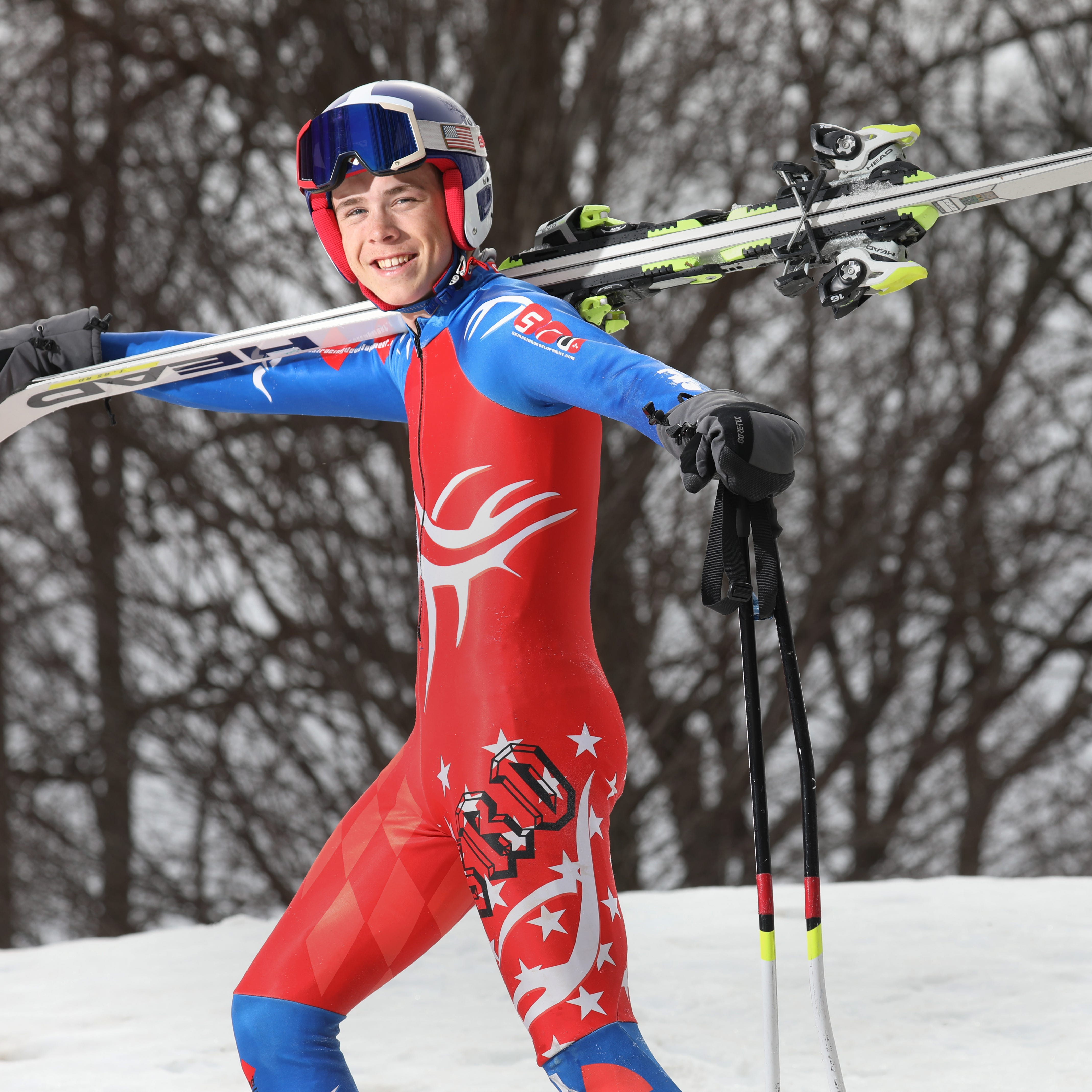 Pittsford's Graham overcomes gruesome injury and wheelchair to win AGR Skier of the Year
