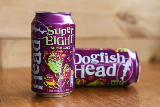 Dogfish Head SuperEIGHT gose can also develop film, the brewery claims.
