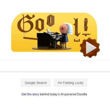 Eastman School of Music chair weighs in on Google's AI-powered Bach Doodle