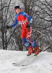 Zane Graham, Pittsford, Boys Alpine Skier of the Year 2019.