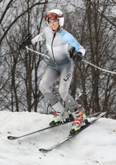 Shannon Hughes, Pittsford, Girls Alpine Skier of the Year 2019.