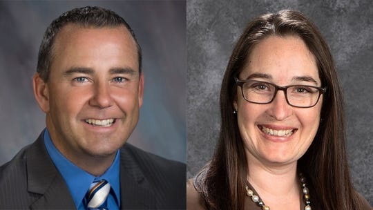 Steve McShane and Wendy Root Askew, candidates for Monterey County supervisor.