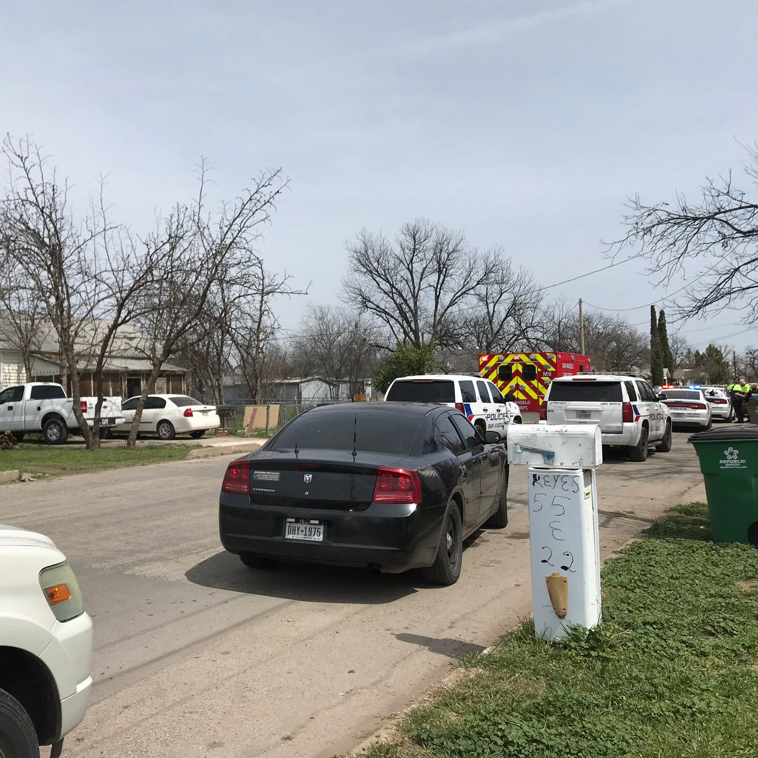 San Angelo police and ambulances scramble to residence on East 22nd Street